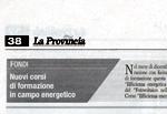 La Provincia, 12 novembre 2009