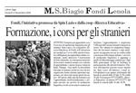 Latina Oggi, 6 novembre 2009